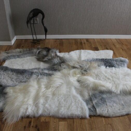 Multi-layer Icelandic Sheepskin Designer Rug SM15