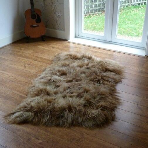 Icelandic Sheepskin Rug Rusty 3 Skin INR3S