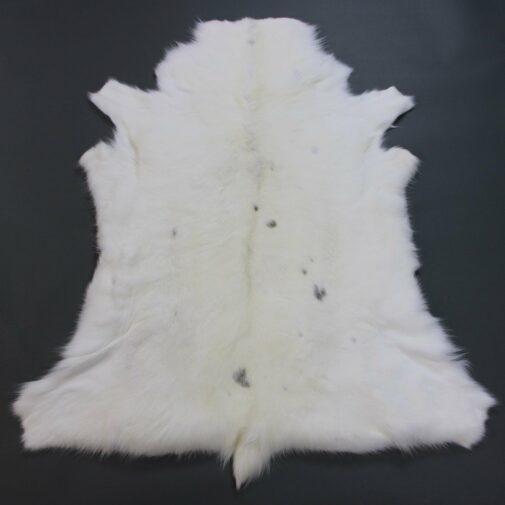 White Reindeer Hide Rug WR199