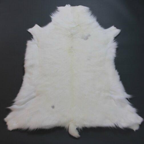 White Reindeer Hide Rug WR203