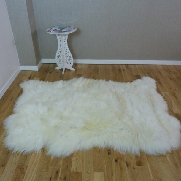 British Sheepskin Rug Natural 3 Skin