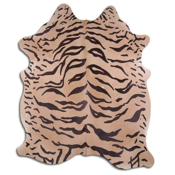 Cowhide Rug Tiger Print