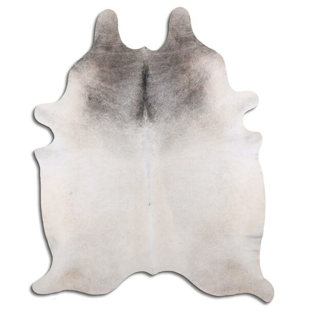 Cowhide Rug Grey and White