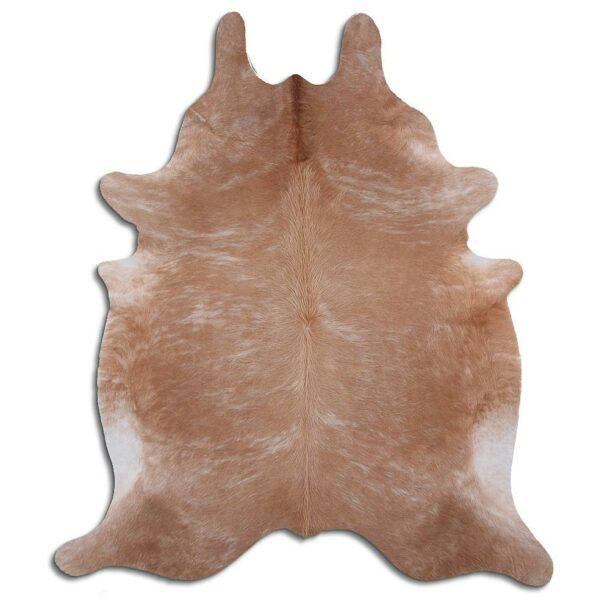 Cowhide Rug Exotic Light Brown