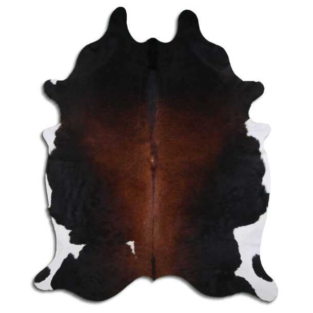 Cowhide Rug Tricolour C498