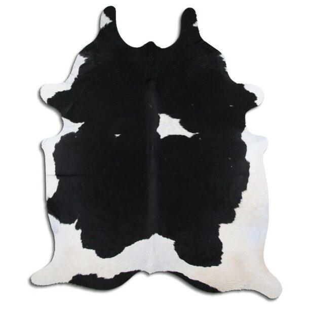 Cowhide Rug Black and White C541