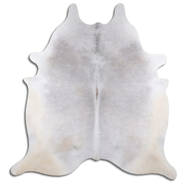 Cowhide Rug Natural Grey C588