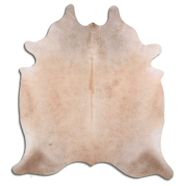 Cowhide Rug Exotic Champagne C635