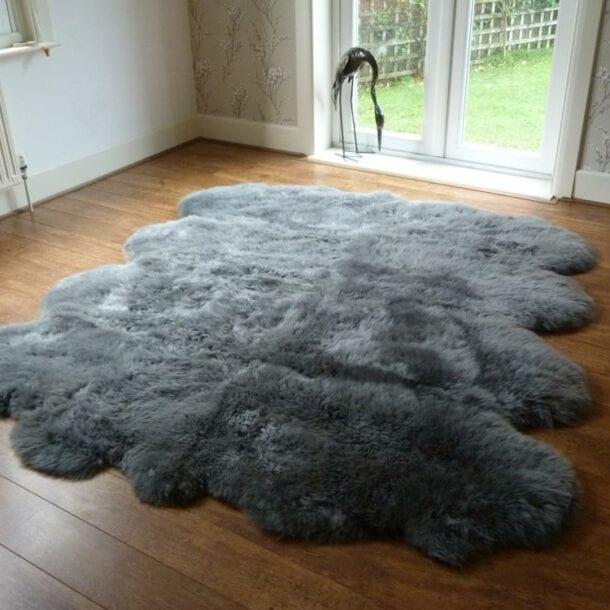 Sheepskin Rug Octo Grey