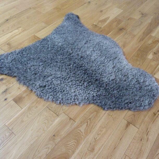 Gotland Sheepskin Rug Natural Grey GOT137