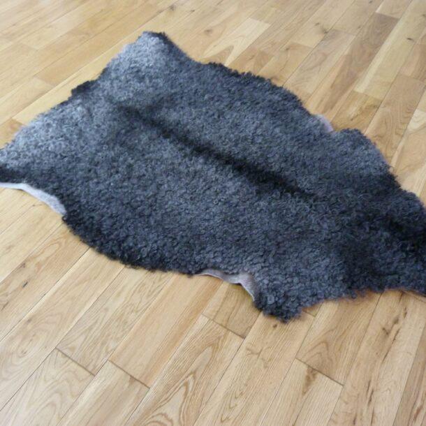 Gotland Sheepskin Rug Natural Grey GOT138