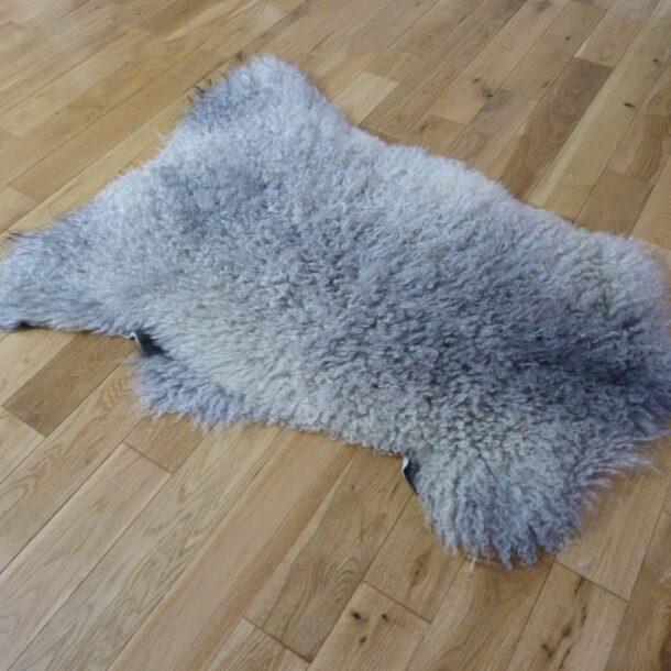 Gotland Sheepskin Rug Natural Grey GOT141