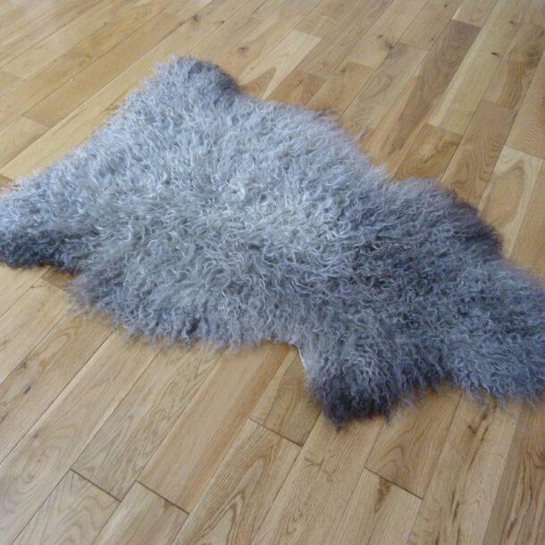 Gotland Sheepskin Rug Natural Grey GOT142