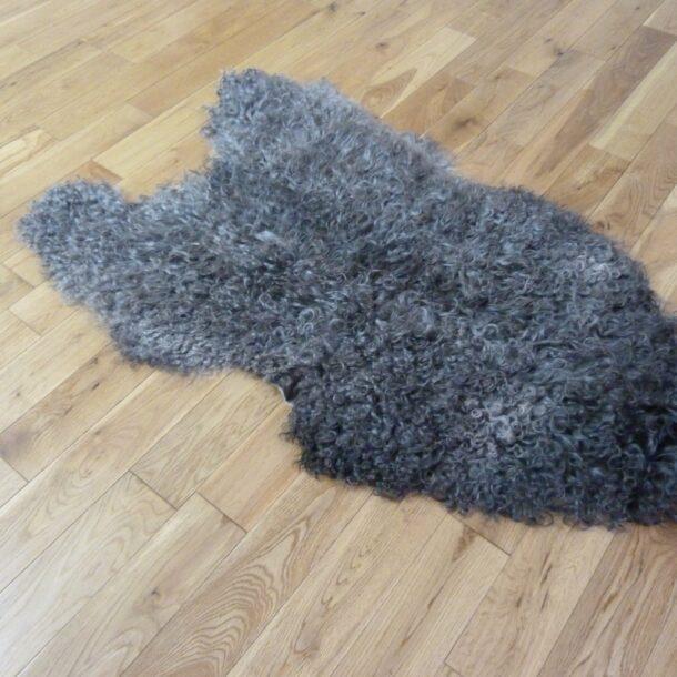 Gotland Sheepskin Rug Natural Grey GOT144