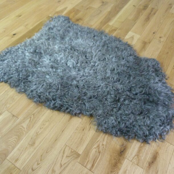 Gotland Sheepskin Rug Natural Grey GOT145