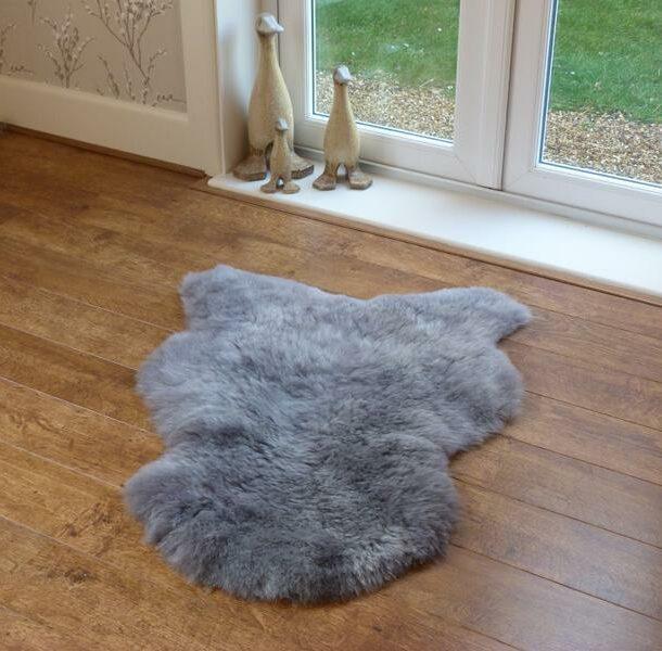 Icelandic Sheepskin Rug Grey Shorn