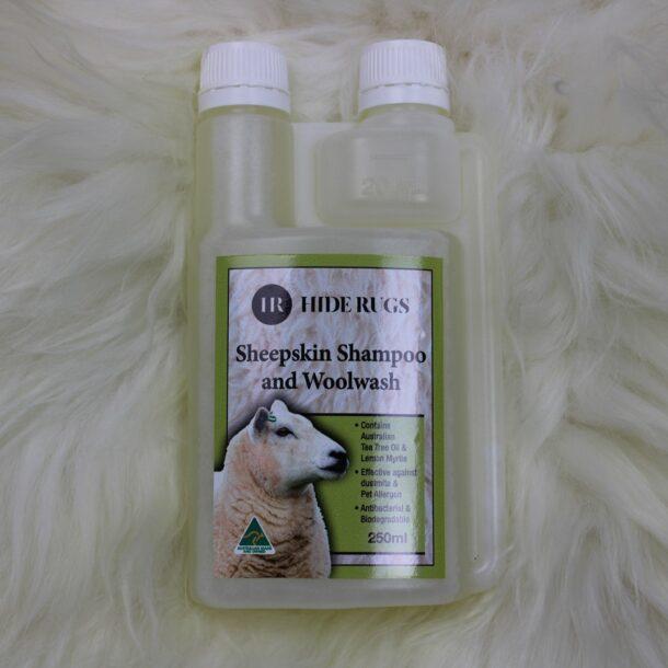 Hide Rugs Sheepskin Shampoo and Woolwash