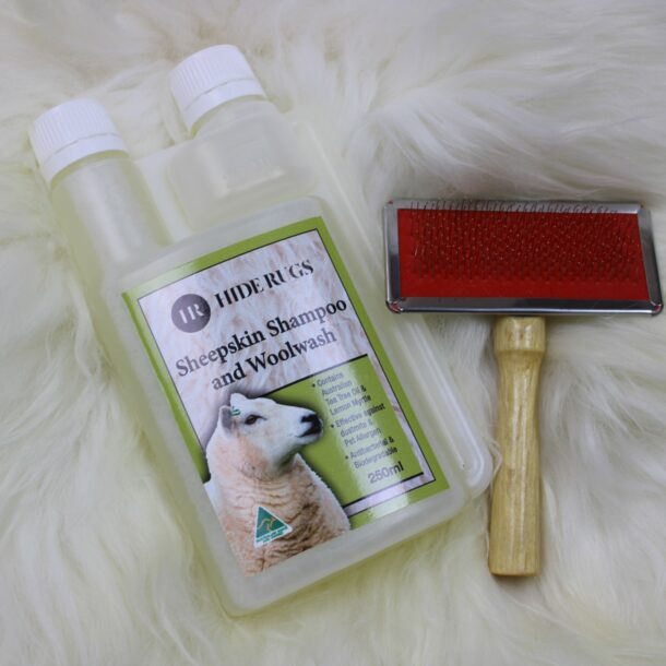 Sheepskin Rug Care Set