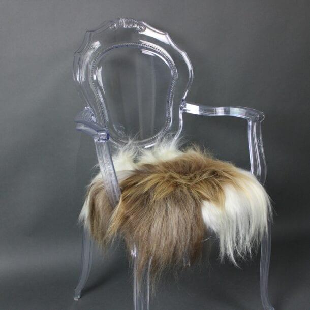 Icelandic Sheepskin Chair Pad Rusty Spotted