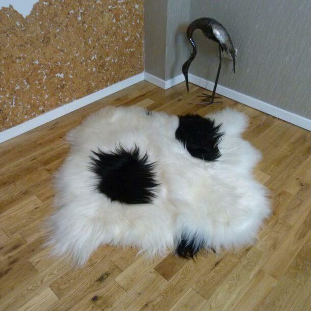 Icelandic Sheepskin Rug 2 Skin IS2S-25