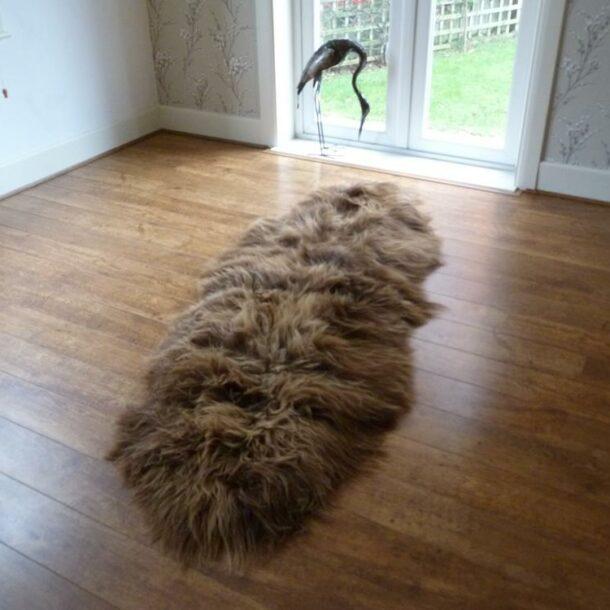 Icelandic Sheepskin Rug Double INRD28