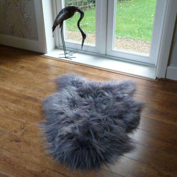 Icelandic Sheepskin Grey MED