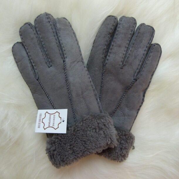 Women's Sheepskin Gloves Suede