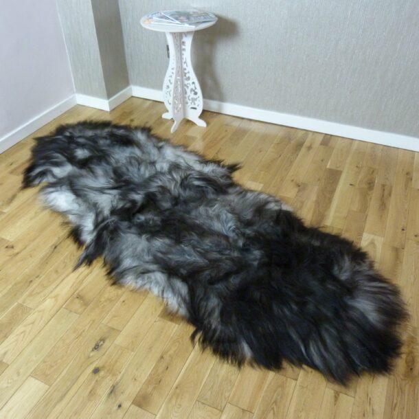 Icelandic Sheepskin Rug Double Natural Grey INGD58
