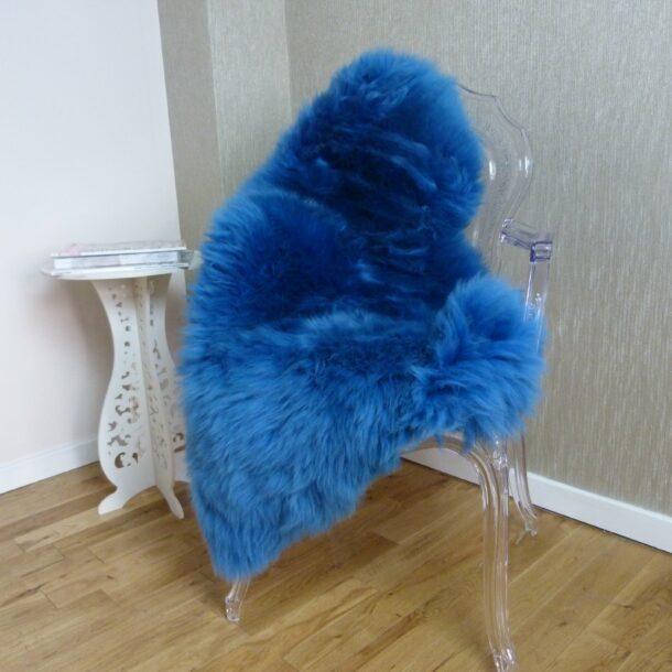 Sheepskin Rug UK Azure Blue