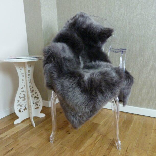 Sheepskin Rug UK Grey 3D