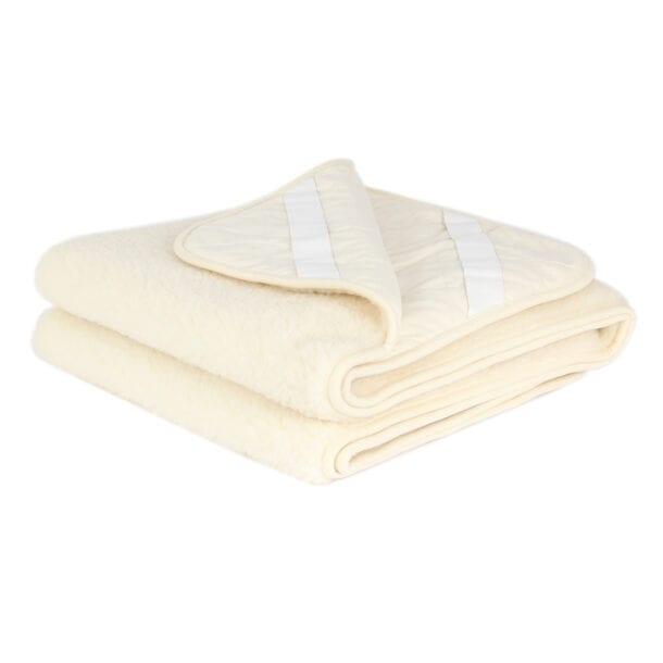 Merino Wool Mattress Topper/Underblanket Ivory – Double Layer