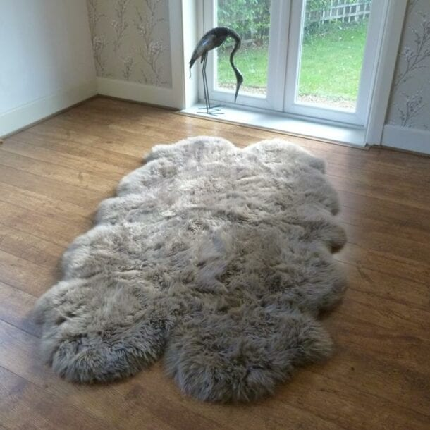 Sheepskin Rug Quad Paco