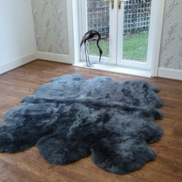 Sheepskin Rug Sexto Grey