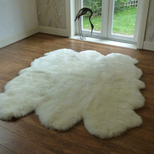Sheepskin Rug Sexto Ivory