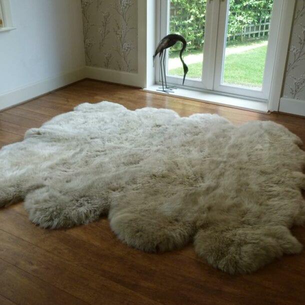 Sheepskin Rug Octo Stone