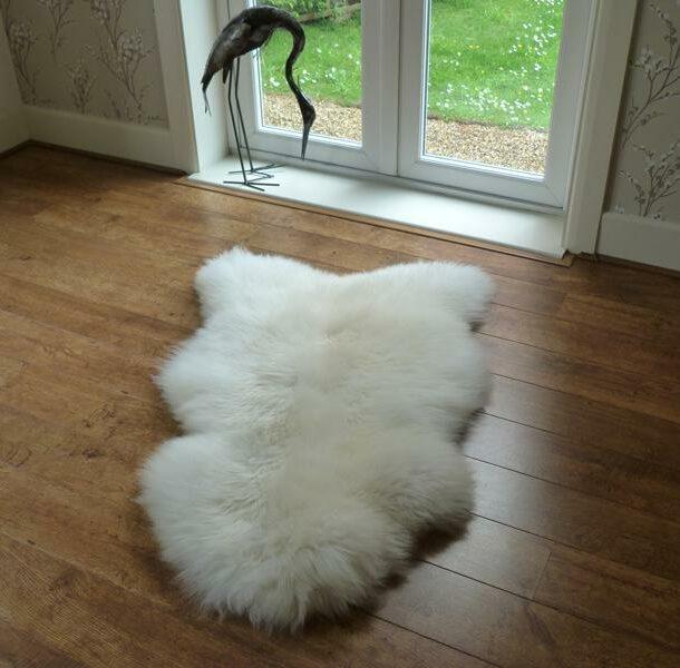 British Sheepskin Rug Natural Single XL