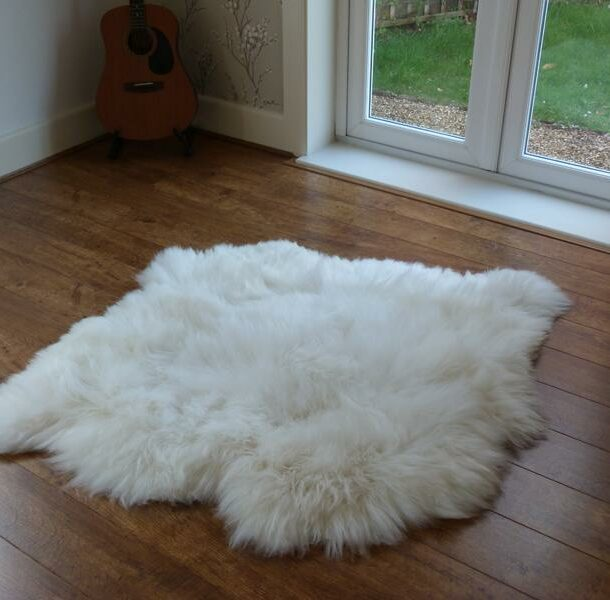 British Sheepskin Rug Natural 2 Skin