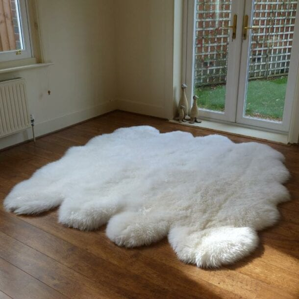 Sheepskin Rug Octo Ivory