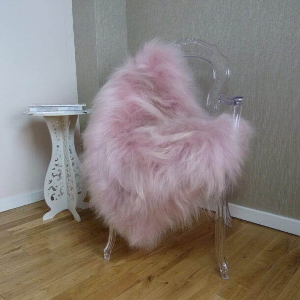 Icelandic Sheepskin Pale Pink – SML